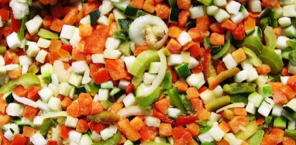 замороженные овощи рецепты